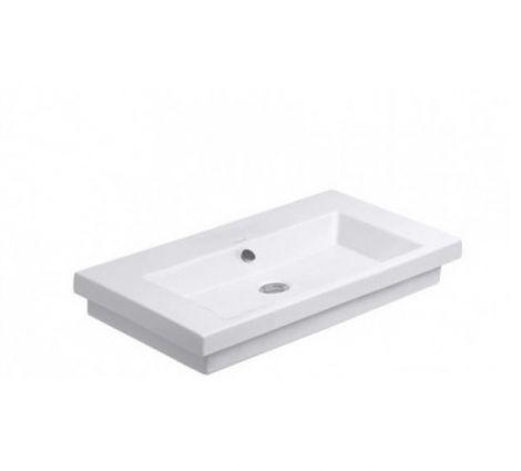 DURAVIT 2nd floor Umywalka szlifowana 70 x 46 cm biała z powłoką wondergliss 04917000281