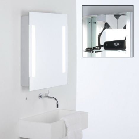 ASTRO LIGHTING Livorno Shaver Lustro podświetlane 700 x 600 x 100 mm 0637