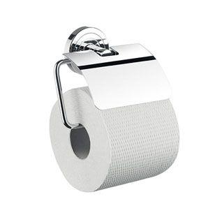EMCO Polo Uchwyt na papier toaletowy z pokrywą chrom 070000100
