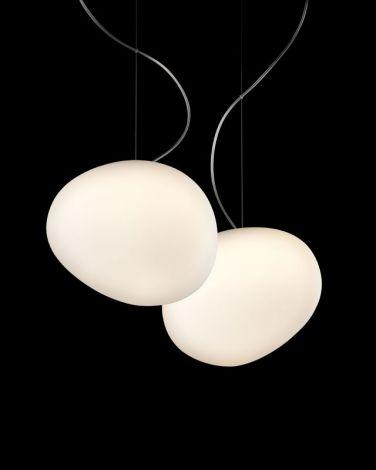 Foscarini GREGG PICCOLA  lampa wisząca biała 1680072R1-10