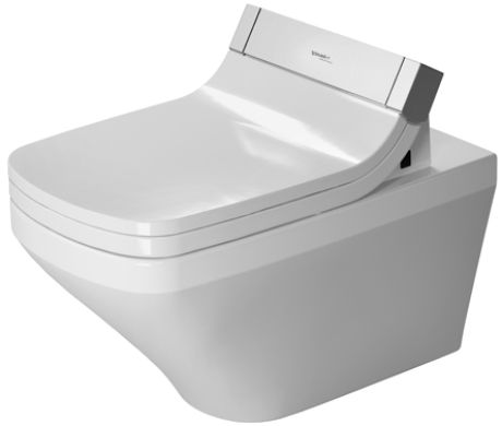 DURAVIT Starck 2 Miska toaletowa wisząca 37 x 62 cm, biała z powłoką wondergliss 25425900001