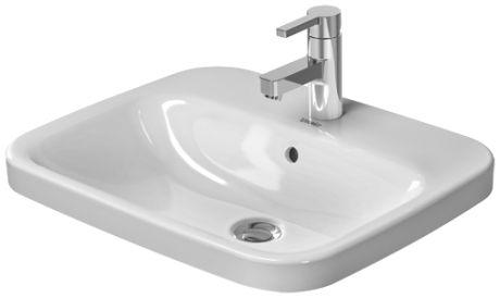 DURAVIT DuraStyle umywalka  56 x 45,5 cm biała z powłoką wondergliss 03745600001