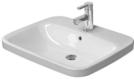 DURAVIT DuraStyle umywalka 61,5x49,5 cm biała z powłoką wondergliss 03746200001