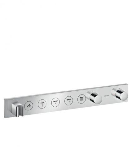 HANSGROHE AXOR ShowerSolutions Moduł termostatyczny Select 670/90 do 5 odbiorników, chrom 18358000 +