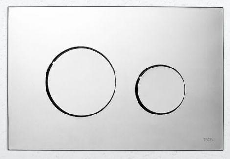TECE Loop Przycisk spłukujący z tworzywa chrom błyszczący 9240626 - Oferta do wyczerpania zapasów