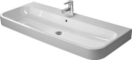 DURAVIT HAPPY D 2 umywalka 120x50,5 cm szlifowana biała z powłoką wondergliss 23181200271 +