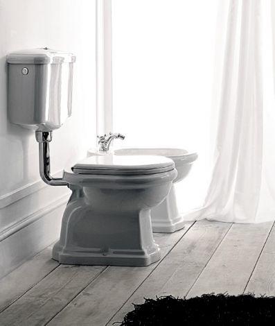 KERASAN RETRO Spłuczka do WC stojącego biała 108201 - Oferta do wyczerpania zapasów