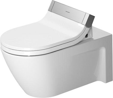 DURAVIT Starck 2 Miska toaletowa wisząca 37,5 x 62 cm, biała z powłoką wondergliss  25335900001 +