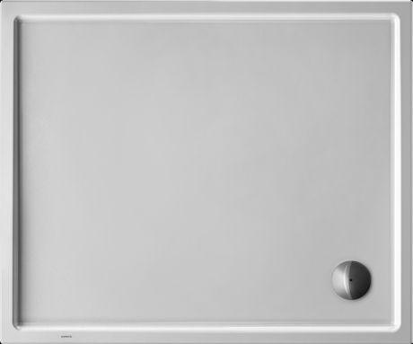 DURAVIT Starck Brodzik prostokątny 120x100 cm, biały 720123000000000 -
