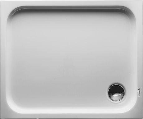 DURAVIT D-Code Brodzik 90x75 cm biały 720104000000000