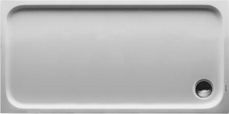 DURAVIT D-code Brodzik 140x70 cm biały 720095000000000