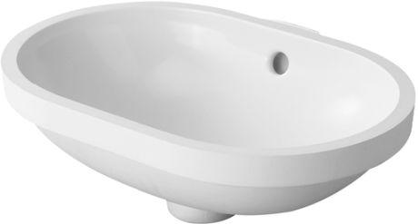 DURAVIT Foster Umywalka podblatowa 43x28 cm biała 0336430000