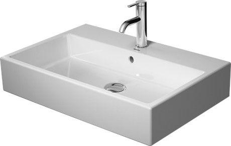 DURAVIT Vero Air umywalka  700 x 470 mm z przelewem  biała 2350700000