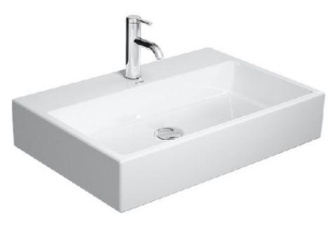 DURAVIT Vero Air umywalka  700 x 470 mm bez przelewu biała z powłoką wondergliss 23507000411