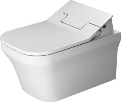 DURAVIT P3 Comforts toaleta wisząca do deski SensoWash  38 x 57 cm biała z powłoką WonderGliss 25615900001 + Oferta do wyczerpania zapasów
