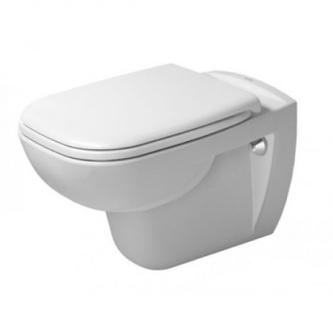DURAVIT D-Code Miska toaletowa wisząca Duravit Rimless 355x545mm, biała 25700900002