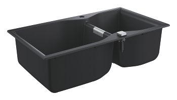 GROHE-K700 Zlewozmywak kompozytowy 900 x 500 mm Kolor czarny granit 31658AP0 +Oferta do wyczerpania zapasów