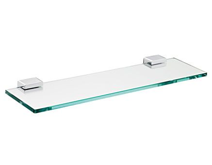 EMCO System 2 Półka szklana wisząca 50 cm chrom 351000150