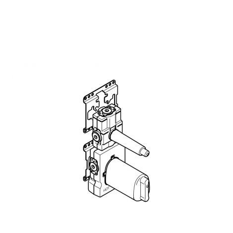 """DORNBRACHT xTOOL moduł termostatu podtynkowy z 1 zaworem 3/4"""" 3551197090"""