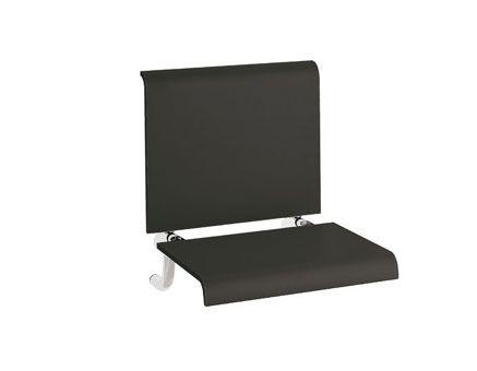EMCO System 2 siedzisko do kabiny prysznicowej, czarne 355121201