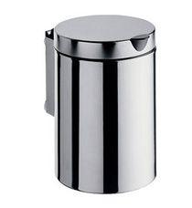 EMCO System 2 Kosz na śmieci z pokrywką do montażu na ścianie stal nierdzewna 355300100