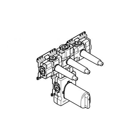 """DORNBRACHT xTOOL moduł termostatu podtynkowy z 3 zaworami 3/4"""" 3553497090"""