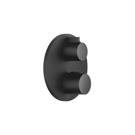 DORNBRACHT Termostat podtynkowy z jednodrożną regulacją przepływu czarny matowy 36425970-33