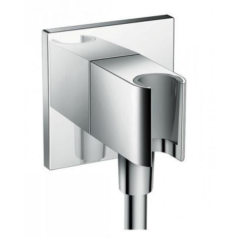 HANSGROHE AXOR ShowerSolutions FixFit Porter Square Uchwyt ścienny, chrom 36734000 +