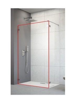 RADAWAY Arta Walk-in Kabina prysznicowa (część frontowa) 140cm , 386214-03-01