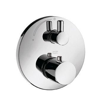 HANSGROHE AXOR UNO Bateria termostatyczna z zaworem odcinającym, element zewnętrzny  chrom 38700000 +