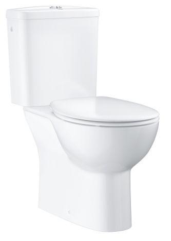 GROHE-Bau Ceramic zestaw kompakt WC z deską wolnoopadającą biały 39346000 +