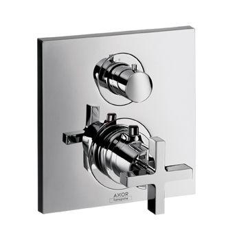 HANSGROHE Axor Citterio Bateria termostatyczna do 2 odbiorników chrom 39725000 + Oferta do wyczerpania zapasów