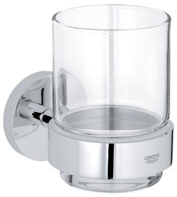 GROHE-Essentials Szklanka z uchwytem chrom 40447001 +Oferta do wyczerpania zapasów