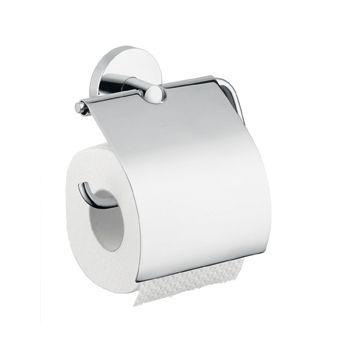 HANSGROHE Logis Uchwyt na papier toaletowy z pokrywą chrom 40523000 +