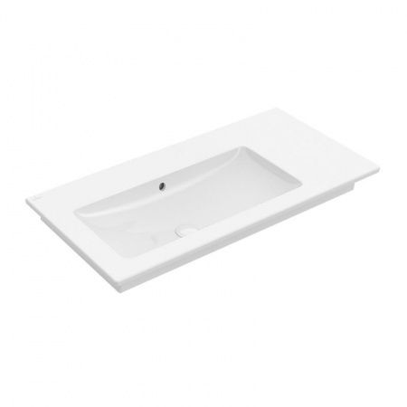 VILLEROY&BOCH Venticello Umywalka meblowa 100x50 cm biała z powłoką CeramicPlus 4134L3R1 -