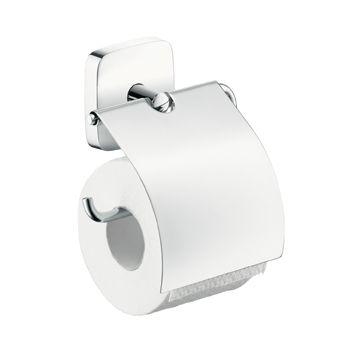 HANSGROHE PuraVida Uchwyt na papier toaletowy chrom 41508000 + Oferta do wyczerpania zapasów