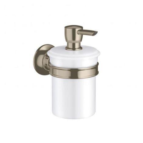 HANSGROHE AXOR Montreux Dozownik na mydło nikiel szczotkowany 42019820 -