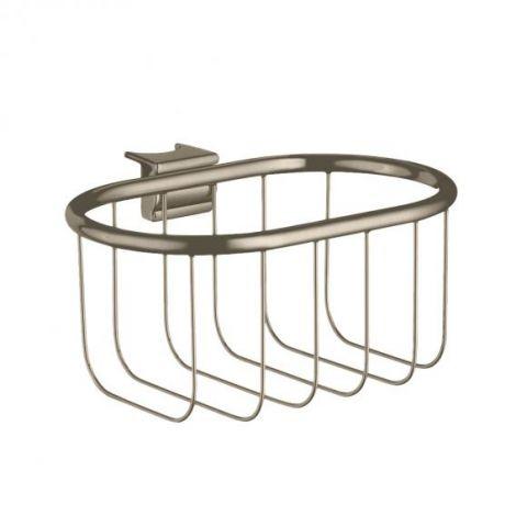 HANSGROHE AXOR Montreux Koszyk narożny na mydło nikiel szczotkowany 42066820 -