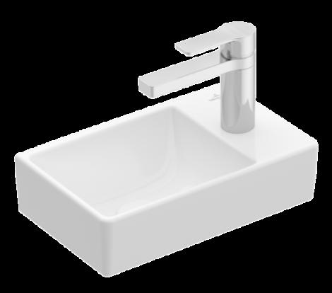 VILLEROY&BOCH AVENTO Umywalka 36 x 22 cm biała z powłoką ceramicplus 43003LR1 + Oferta do wyczerpania zapasów