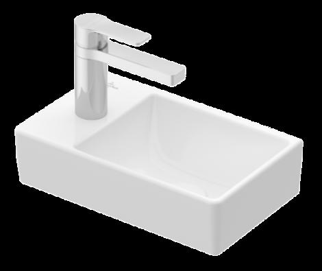 VILLEROY&BOCH AVENTO Umywalka 36 x 22 cm biała z powłoką ceramicplus 43003RR1 +