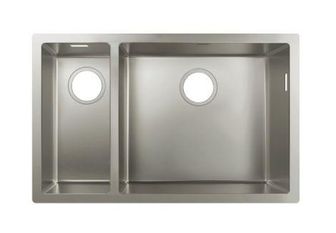 HANSGROHE Zlewozmywak podblatowy 180 x 450, stal szlachetna 43429800 + produkt pod zamówienie