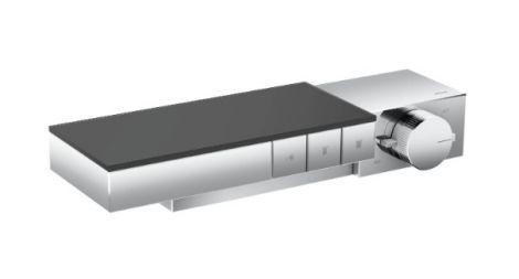 HANSGROHE Axor Edge Moduł termostatyczny do montażu podtynkowego, element zewnętrzny do 3 odbiorników, chrom 46140000 +