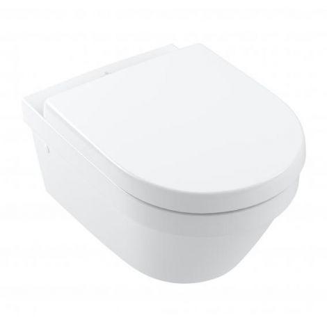 VILLEROY&BOCH Architectura Toaleta wc wiszące 53x37 cm DirectFlush bez kołnierza z powłoką CeramicPlus biała 4694R0R1+