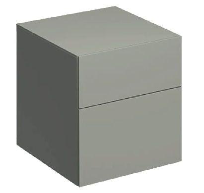 GEBERIT Xeno2 Szafka boczna 45 cm, ciepły szary mat 500.504.00.1