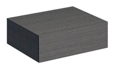 GEBERIT Xeno2 Szafka boczna 60 cm, szary mat płótno 500.507.43.1