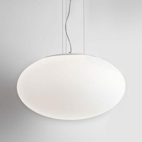 ASTRO LIGHTING ZEPPO PENDANT 400 lampa wisząca biało-mleczne szkło 7094