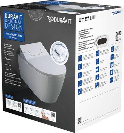 DURAVIT SensoWash Slim Zestaw wc wiszące kolor biały 631000002004300 +Oferta do wyczerpania zapasów
