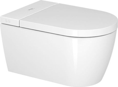 DURAVIT SensoWash Starck F toaleta wisząca z funkcją bidetu 37,8 x 57,5 cm biała 650001012004310+ oferta do wyczerpania zapasów