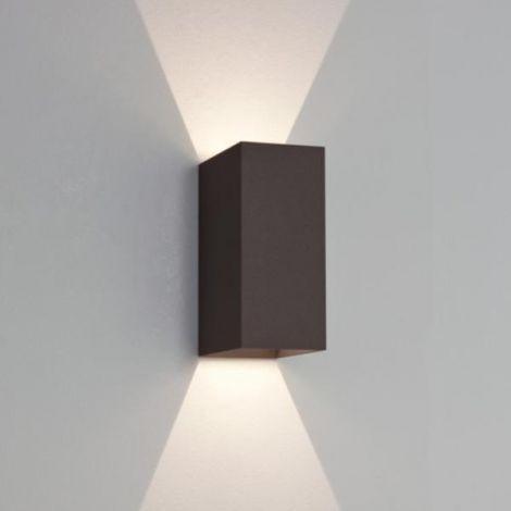 ASTRO LIGHTING OSLO 160 Lampa, kinkiet ścienny zewnętrzny czarny 7061