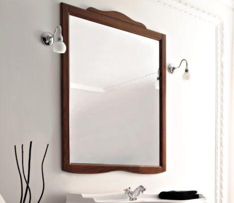 KERASAN RETRO lustro w ramie w kolorze 92 x 116 cm orzech 734540
